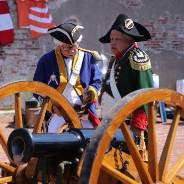 napoleon fort kijkduin kanon